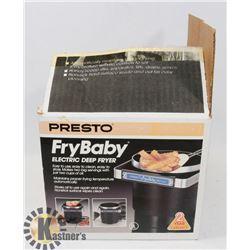 PRESTO FRY BABY ELECTRIC DEEP FRYER