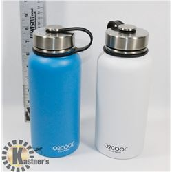 O2COOL STAINLESS STEEL 32 OZ.  BOTTLES