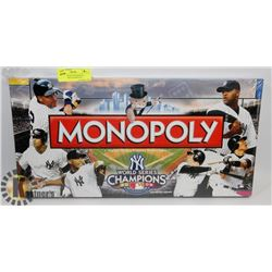FACTORY SEALED MONOPOLY WORLD SERIES CHAMPIONS