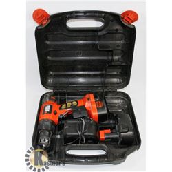 BLACK AND DECKER 14.4V DRILL AND CHARGER