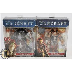 NEW IN PACKAGE 2 WARCRAFT FIGURINES