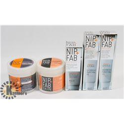 BAG OF NIP FAB FACIAL TREATMENTS