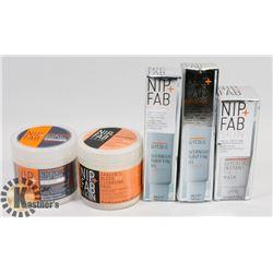 BAG OF NIP FAB FACIAL PRODUCTS