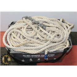 BASKET WITH SAFETY LINE