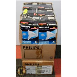 3 CASES OF ASSORTED LIGHT BULBS