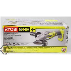 NEW RYOBI 18V ONE PLUS CORDLESS