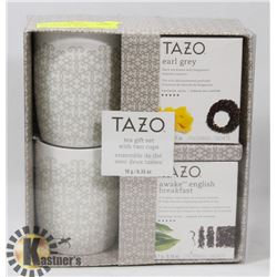 NEW TAZO TEA GIFT SET WITH 2 CUPS. GENERAL, HOME