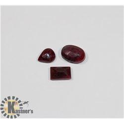 #18-RED RUBY GEMSTONE  46.5CT