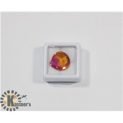 #35-MULTI-COLOR TOURMALINE GEMSTONE  11.70CT
