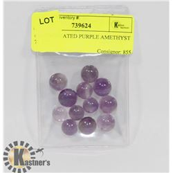 #25-UNTREATED PURPLE AMETHYST 77.5CT