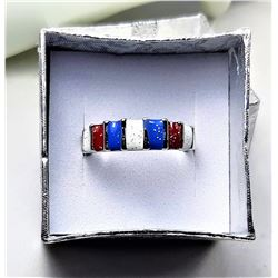 9) TRI COLORED ENAMEL BAND STYLE