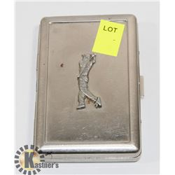GOLF THEME CIGARETTE TIN
