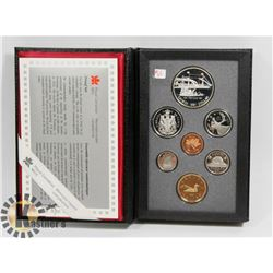 1991 CANADA PROOF COIN SET
