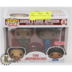 FUNKO POP THE JEFFERSONS 2 PACK -