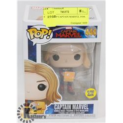 FUNKO POP CAPTAIN MARVEL #444.