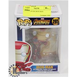 FUNKO POP #285 IRON MAN.