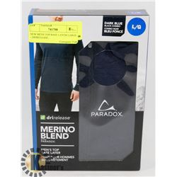 NEW MENS TOP BASE LAYER LARGE - DRIRELEASE.