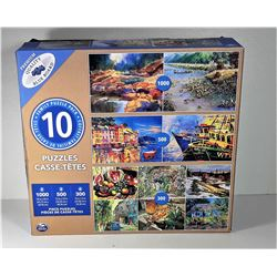 11)  FACTORY SEALED PACKAGE OF 10