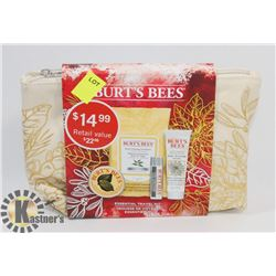 BURTS BEES ESSENTIAL TRAVEL KIT