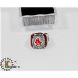 2013 BOSTON RED SOX MLB REPLICA  RING SZ 10.5
