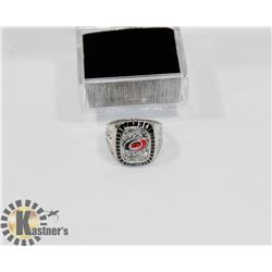 CAROLINA HURRICANES 2006 STANLEY CUP REPLICA RING
