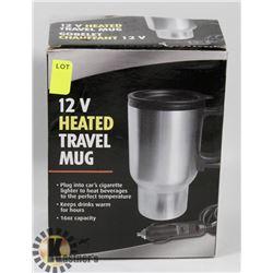 12V HEATED TRAVEL MUG