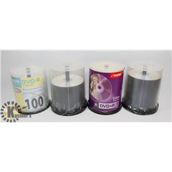 4-CONTAINERS DVD R'S
