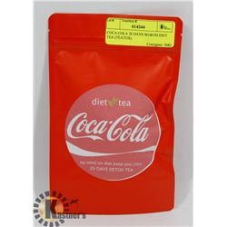 COCA COLA 20 DAYS WORTH DIET TEA (TEATOX)