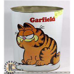 1978 GARFIELD TRASH BIN