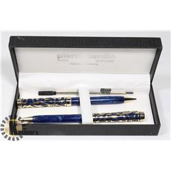 VINTAGE PIERRE CARDIN PEN & PENCIL SET WITH BONUS