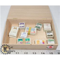 CIGAR BOX WITH 10 X 100 BUNDLES & CATALOGUED