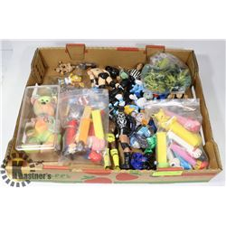 ASSORTED COLLECTIBLES INCL PEZ