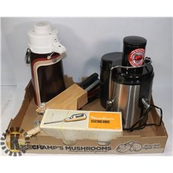 COFFEE CARAFE, BIG BOSS JUICER, MOULINEX ELECTRIC