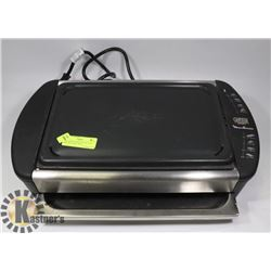 MOULINEX CANON GRANIT CAST IRON ELECTRIC GRILL