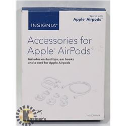 INSIGNIA ACCESSORY KIT FOR APPLE AIRPODS
