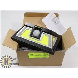 2-NEW SOLAR SECURITY LIGHTS