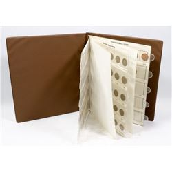 UNI-SAFE FOLDER WITH SMALL CENT COLLECTION.