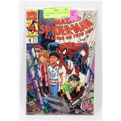 #1 SPIDERMAN COMIC WITH OILERS COVER