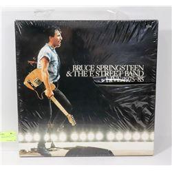 SEALED BRUCE SPRINGSTEEN 5 LP SET.