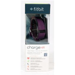 FITBIT CHARGE HR HEARTRATE AND ACTIVITY BAND,.