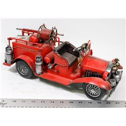 LARGE TIN FIRE TRUCK