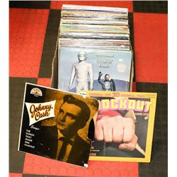 BOX OF RECORDS MIXED