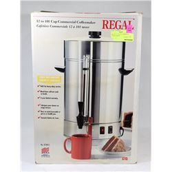 REGAL 12 - 101 CUP COMMERCIAL COFFEE MAKER.