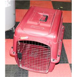 LARGE RED PET CARRIER