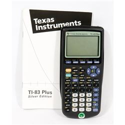 TEXAS INSTRUMENTS TI 83 PLUS GRAPHING CALCULATOR