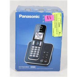 PANASONIC CORDLESS PHONE W/ ANSWERING MACHINE