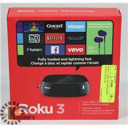 ROKU 3 1080P HD STREAMING DEVICE NETFLIX