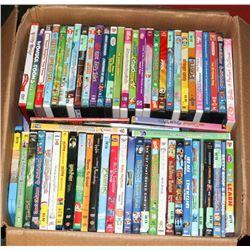 ASSORTED 100+KIDS DVD'S