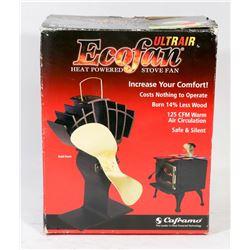 ECOFAN HEAT POWERED STOVE FAN.
