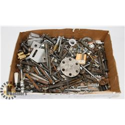 LOT OF ASSORTED NUTS AND BOLTS